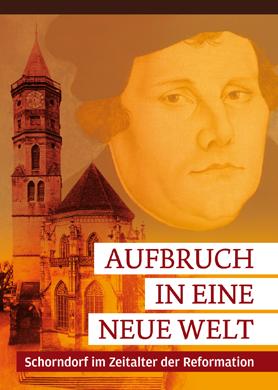Flyer zur Reformationsausstellung